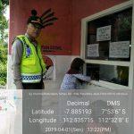 Kanit Sabhara Polsek Batu Polres Batu Giat Patroli Obyek Vital Yang Ada Di Kota Batu Untuk Memberikan Kenyamanan Kepada Pengunjung