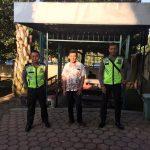 Tingkatkan Keamanan,   Polres Batu Laksanakan Pengamanan Lokasi Tempat Ibadah Sore Jumat Agung.
