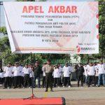 Bawaslu gandeng Polres Batu , laksanakan apel akbar Pengawas TPS serentak seluruh Indonesia