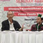 Jaga Kondusifitas Pasca Pemilu 2019, Wakapolres Batu Jadi Narasumber Dalam Seminar Kebangsaan