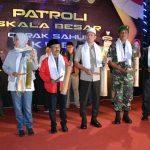 Oprak Sahur Patroli Skala Besar dan Sahur di KPU