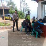 Sat sabhara Polres Batu Giatkan Patroli Ketempat Wisata Paralayang  Jaga Kamtibmas