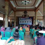 Bhabinkamtibmas Desa Bendosari Polres Batu Menghadiri Pengudian Nomer Dan Visi Misi Calon Kades