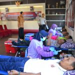 Sambut Hari Bhayangkara ke 73, Polres Batu Gelar Donor Darah