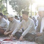 Gema Takbir menggelegar hiasi pelaksanaan Sholat Iedul Fitri 1440 H di Polres Batu