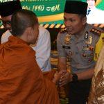 Perkokoh Persatuan, Kapolres Batu Gelar Halal Bihalal Lintas Iman