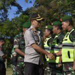 Pastikan Kesiapan Pengamanan Pilkades, Kapolres Batu Pimpin Apel Pergeseran Pasukan
