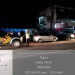 Tingkatkan Sitkamtibmas Yang Kondusif,di hari raya Polsek Pujon Polres Batu Giatkan Patroli Malam Jaga Kamtibmas