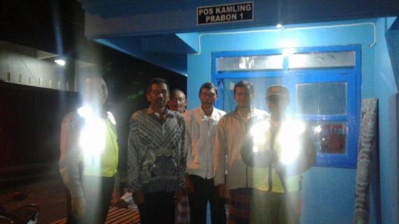 Polsek Ngantang Polres Batu di hari raya Giatkan Patroli Malam Jaga Kamtibmas