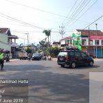 Salah Satu Bentuk Pelayanan Prima Kepolisian Saat Lebaran, Satlantas Polres Batu Laksanakan Pengaturan Arus lalin