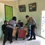 Anggota Bhabinkamtibmas Polsek Junrejo Polres Batu Patroli Sambang Ke Sekolah Untuk Menjaga Kelancaran Belajar Mengajarserap aspirasi warga binaan