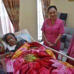 Dalam rangka memperingati HKGB ke 67, Ketua Bhayangkari Cabang Batu sambangi Warakawuri