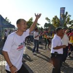 Bersatu Bangun Indonesia, Polres Batu Senam Bersama Masyarakat