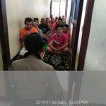 Giat Pengamanan Mako, Polres Batu Rutin Lakukan  Kontrol Tahanan