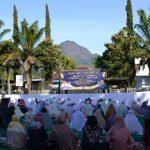 Kapolres Batu Gelar Shalat Idul Adha Bersama Warga