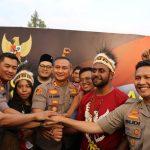 Kapolres Batu Bersama Kapolres, Forkopimda Malang Raya Hadiri Tasyakuran dan Do'a Bersama Pemuda Papua/Malang