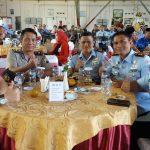 Kompol Barkah Polres Batu Menghadiri Kenal Pamit Komandan Komandan Wing 2 Lanud Abdurahman Saleh
