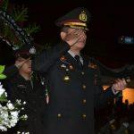 Untuk Hormati Arwah para Pejuang Kemerdekaan dan Jelang peringatan HUT RI ke 74, Kapolres Batu serta Forkompimda melaksanakan kegiatan AKRS di TMP Suropati