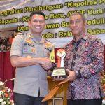 Kapolres Batu Mendapat Penghargaan Sebagai Kapolres Peduli Lingkungan