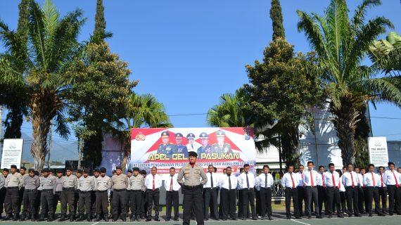 Pastikan Keamanan Pelantikan Presiden dan Wakil Presiden, Kapolres Batu Pimpin Apel Gelar
