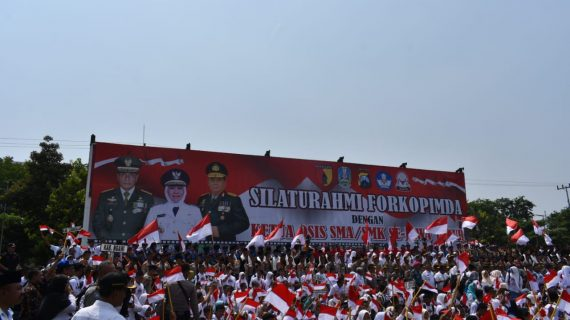 Kapolres Batu Hadiri Silaturahmi Forkopimda dan Pelajar Se-Jawa Timur