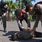 Uji Kesiapan Anggota, Polres Batu Amankan Pelaku Kejahatan