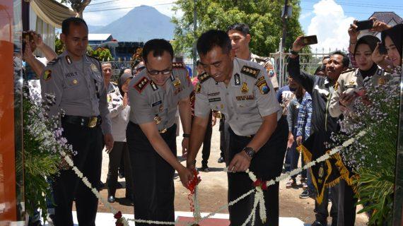 Kabiddokkes Polda Jatim Resmikan Gedung Klinik Urkes Polres Batu