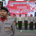 Kenang Jasa Para Pahlawan, Kapolres Batu Gelar Upacara Peringatan Hari Pahlawan