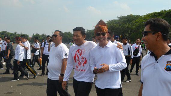 Kapolres Batu ikut meriahkan Semarak Forkopimda Jawa Timur pada acara peringatan Hari Ibu Ke 91 di Kodam V Brawijaya