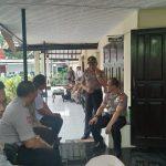 Kapolres dan Ketua Cabang Bhayangkari laksanakan Kunker Ke Polsek Jajaran