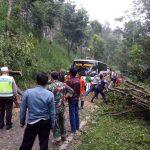 SIAGA CUACA EKSTRIM, POLISI DAN TNI EVAKUASI POHON TUMBANG.