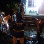Bersama Stakeholders, Polres Batu tanggap bencana.