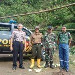 Kapolsek Pujon gandeng TNI dan Perhutani antisipasi bencana alam di kawasan hutan