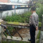Deteksi dini bencana banjir dan longsor di wilayahnya, Polsek junrejo giatkan patroli