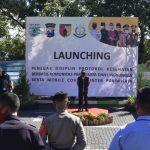 Launching Tim Penegak Disiplin Protokol Kesehatan Berbasis Komunitas Pariwisata dan Lingkungan di Kota Batu