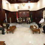 Kapolda Jatim dan Ketua Pengadilan Tinggi Surabaya Kolaborasi Terkait Sistem Peradilan Pidana dan Tindak Lanjut Satgas Mafia Tanah