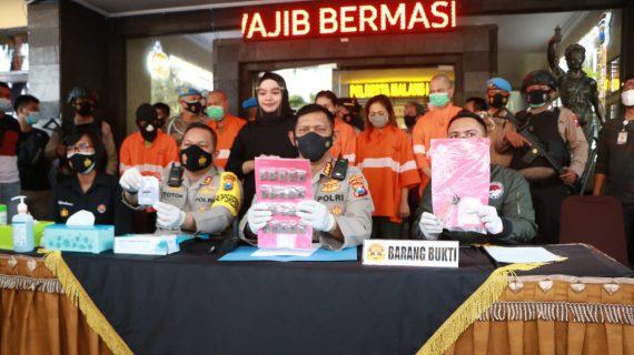 Polresta Malang, Ringkus Sindikat Pengedar Narkotika