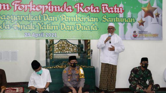 Forkopimda gelar Safari Ramadhan di Mapolres Batu