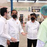 Kunjungan Presiden RI, Joko Widodo: Saya Bangga Dengan Provinsi Jatim Yang Mempunyai Perusahaan Eskpor di Lamongan