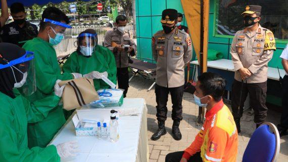Tim Supervisi Mabes Polri Pantau SOP Penyekatan Dan Larangan Mudik Di Jatim*