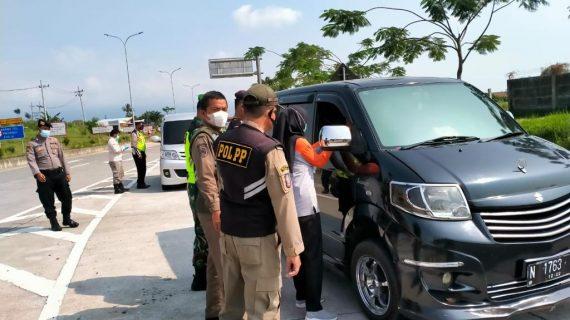 Optimalisasi PPKM Mikro dan Pos Penyekatan di Perbatasan