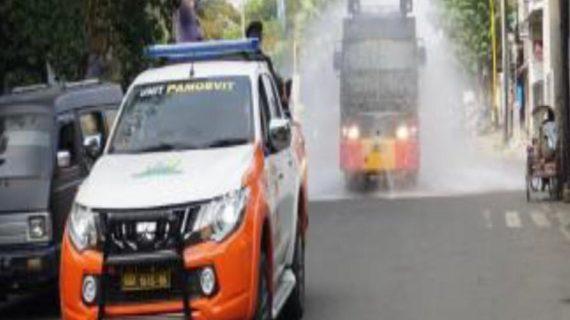 Cegah Penyebaran Covid-19, Polda Jatim Kerahkan Pasukan di Zona Merah Bangkalan