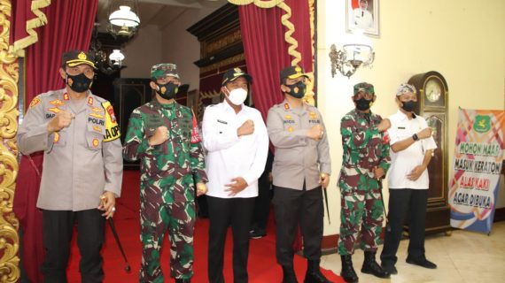Jelang Kunjungan Kapolri dan Panglima TNI, Kapolda Jatim-Pangdam V Brawijaya Tinjau Sumenep