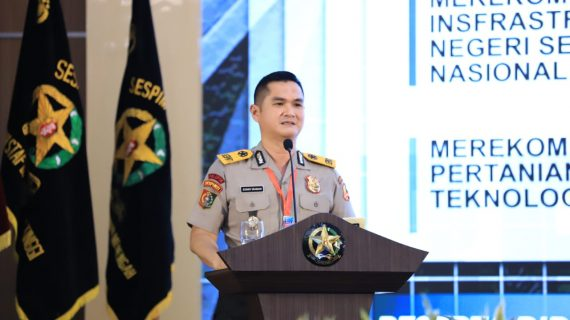 Sespimti Polri bersama Sesko TNI : Integrasi 3 dimensi TNI Polri dalam Program Kegiatan Bersama Kejuangan Tahun 2021