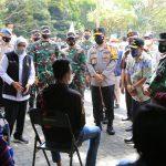 Forkompimda Jatim Mengecek Langsung Pelaksanaan Serbuan Vaksinasi di Malang