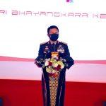 Kapolda Jatim Gelar Upacara Pembinaan Tradisi Polri dalam Rangka Hari Bhayangkara ke-75 Tahun 2021