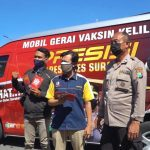 Mobil Vaksin Keliling Polrestabes Surabaya Siap Mensupport Komunitas Masyarakat