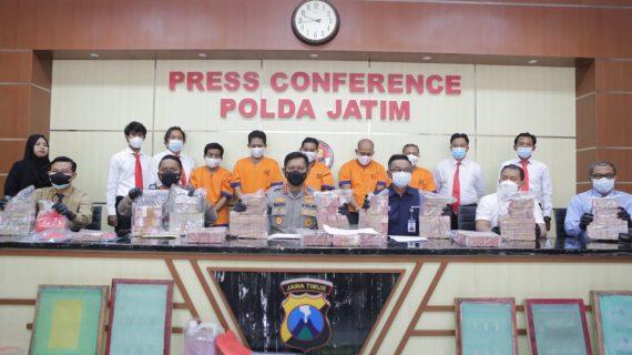 Polresta Banyuwangi Didukung Ditreskrimsus Polda Jatim, Ungkap Peredaran Upal Senilai 3,8 M